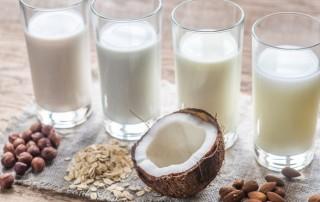 tejallergia, tejhelyettesítők, növényi tej